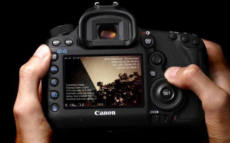 Canon запатентует двойную систему стабилизации